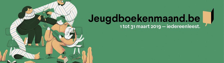 Jeugdboekenmaand 2019 banner