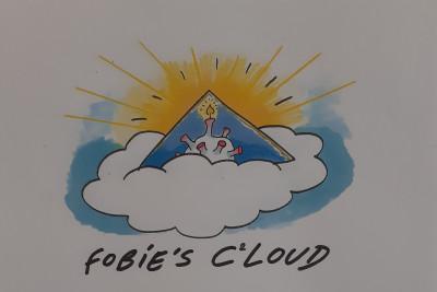 Cartoons van Fobie in bib Neerpelt